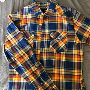 Hurley Long Sleeve Button-Down